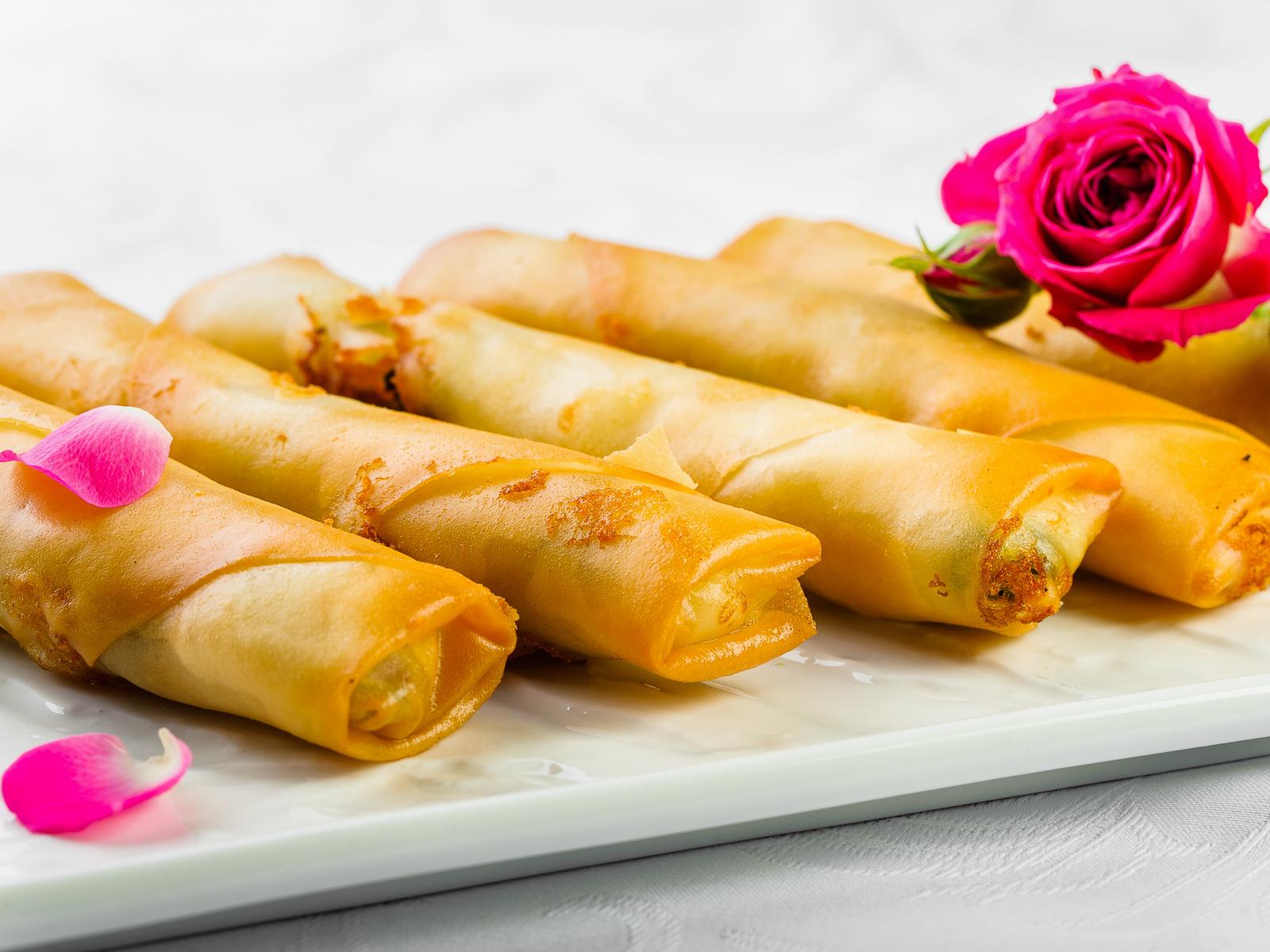 Вегетарианский тайский ролл
