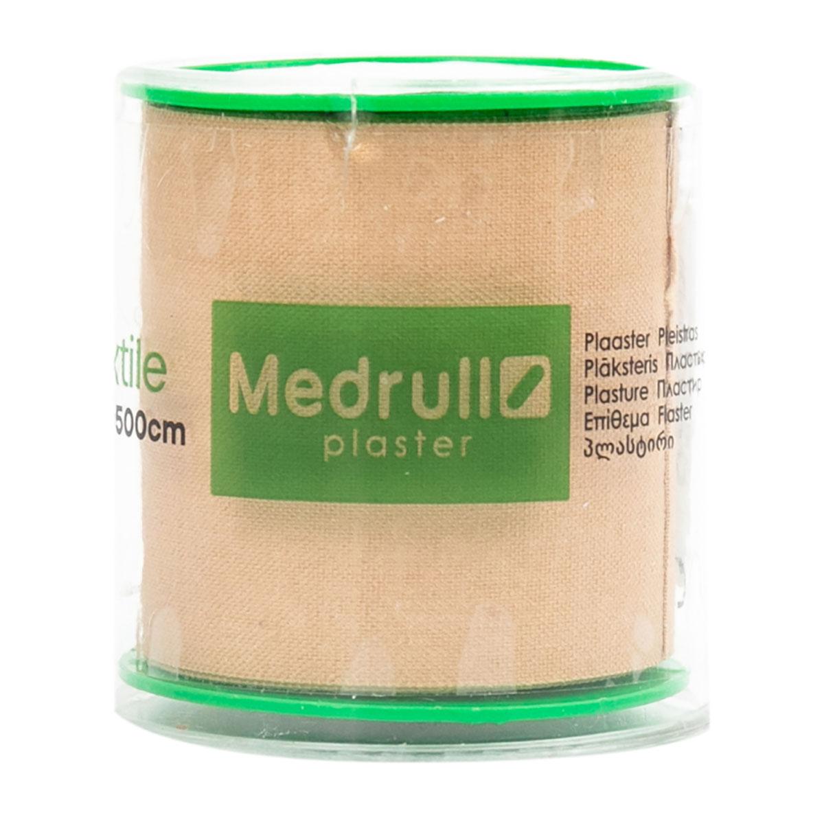 Medrull Textile лейкопластырь