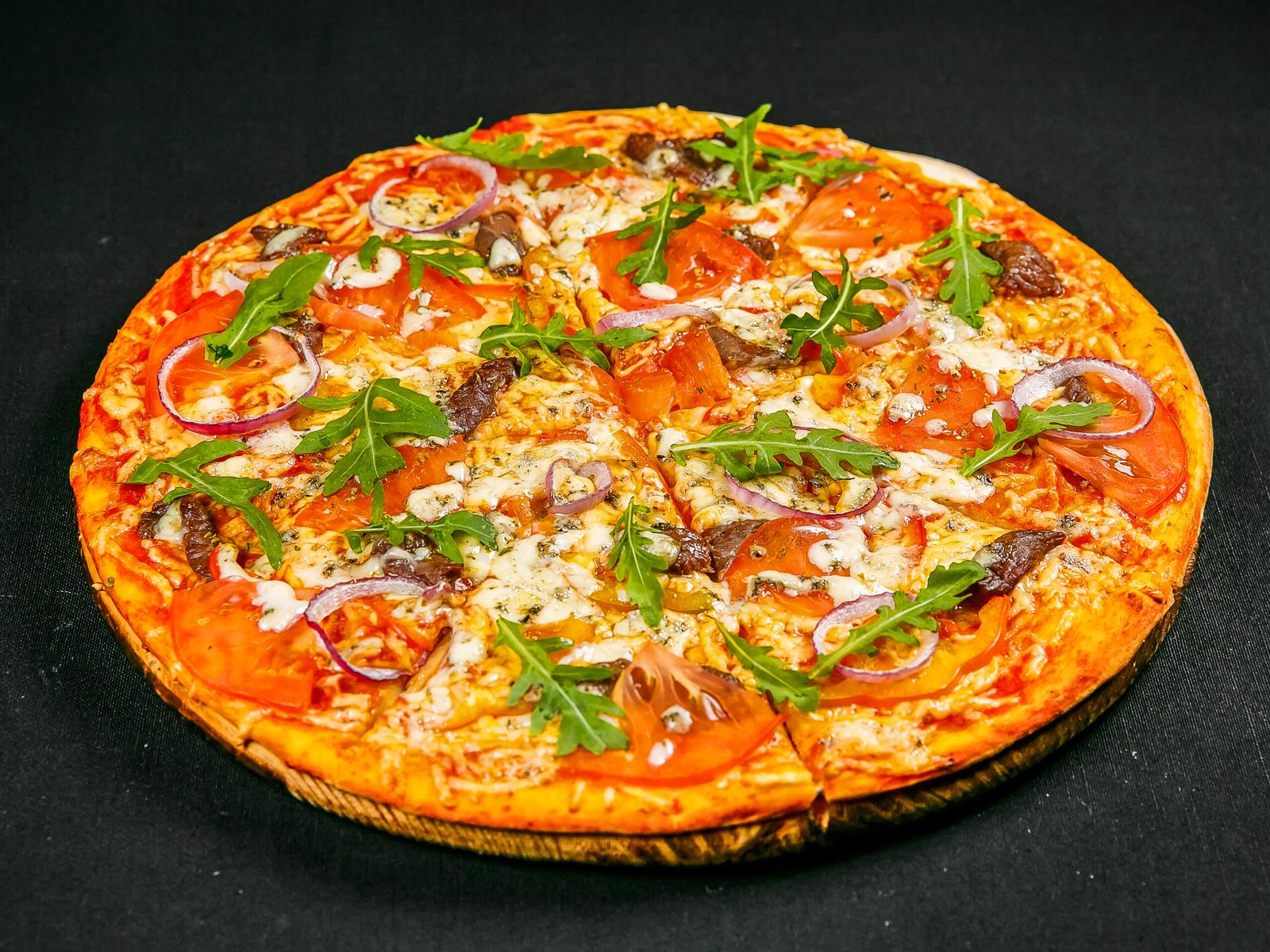 Пицца Сувлаки Греческая