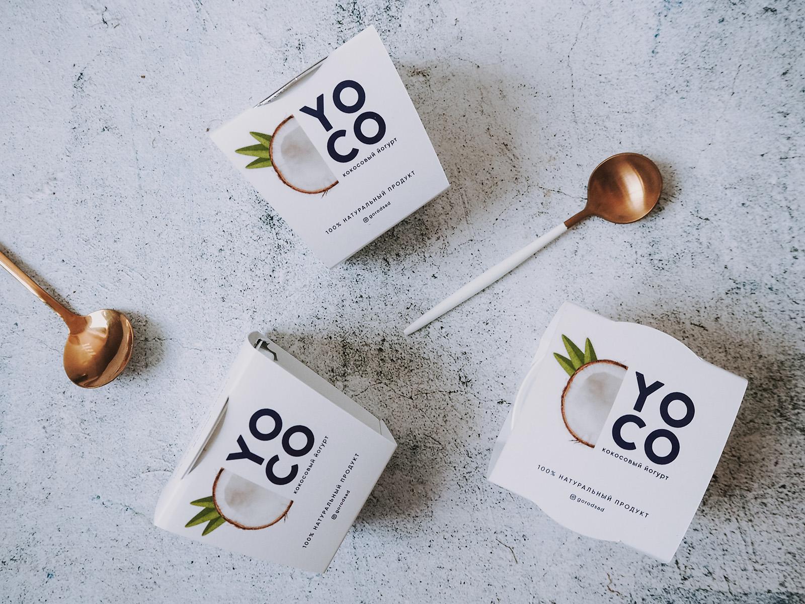 Набор кокосовых йогуртов YOCO