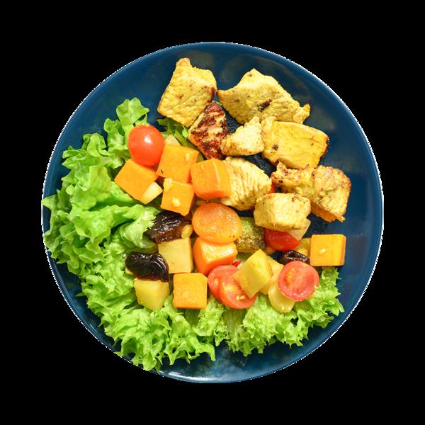 Филе индейки с овощами по-провансальски