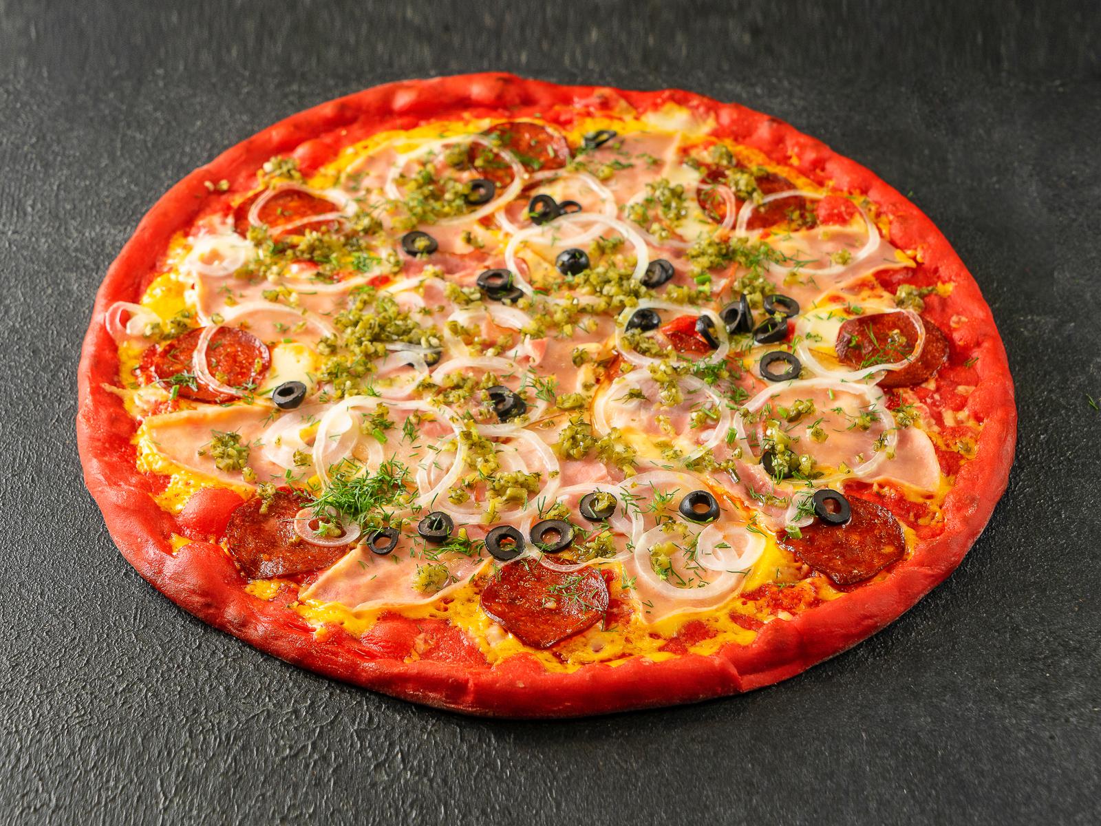 Пицца Три поросенка