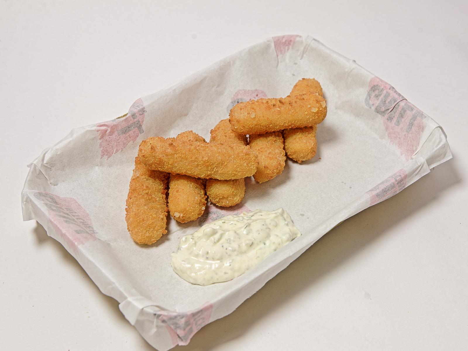 Сырные пальчики