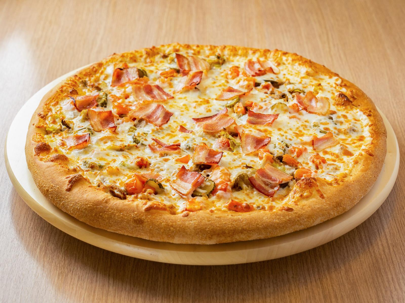 Пицца Гриль Чизбургер