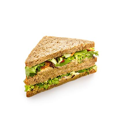 Сандвич с баклажанами