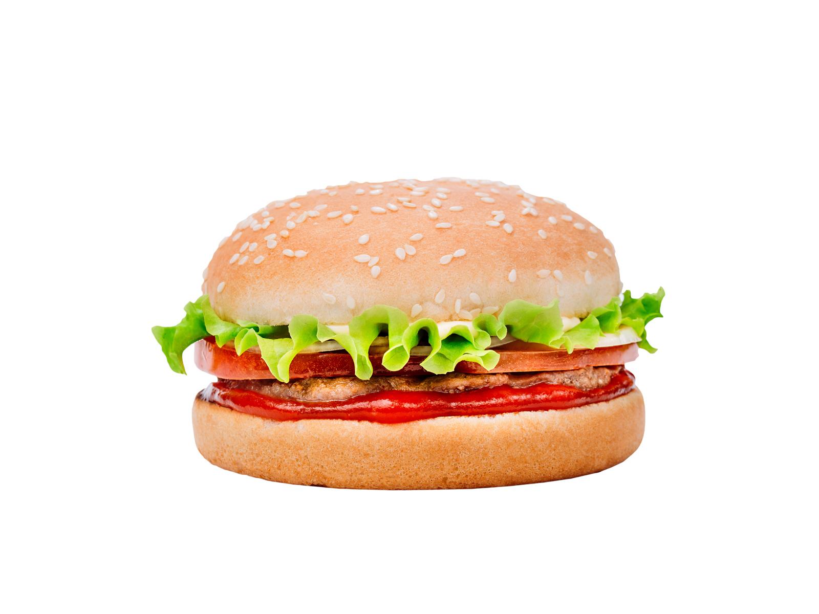 Премиум-бургер
