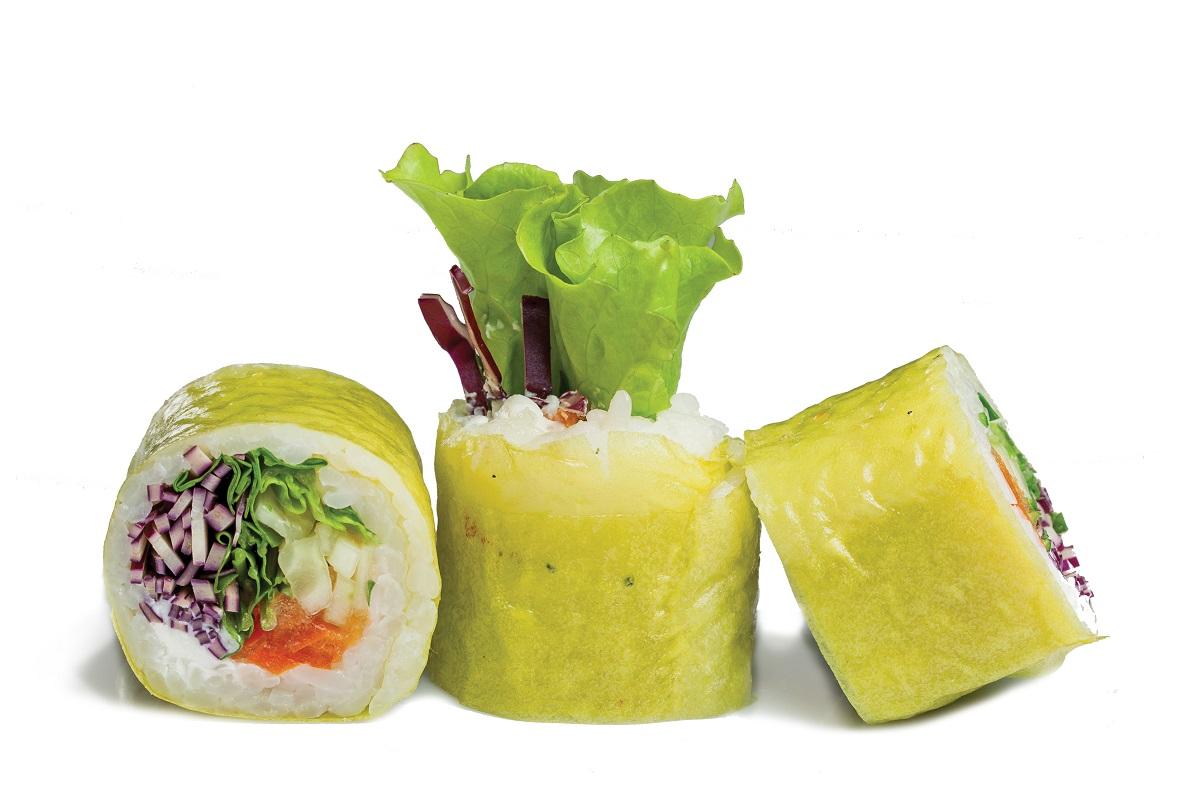Ролл Овощной со сливочным сыром