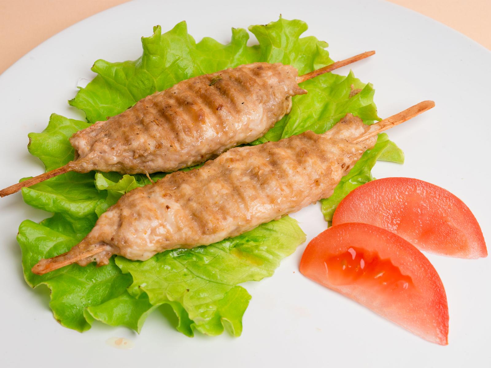 Люля кебаб из курицы и индейки