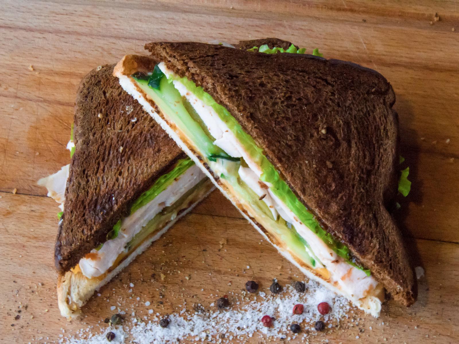Сэндвич со свиной вырезкой