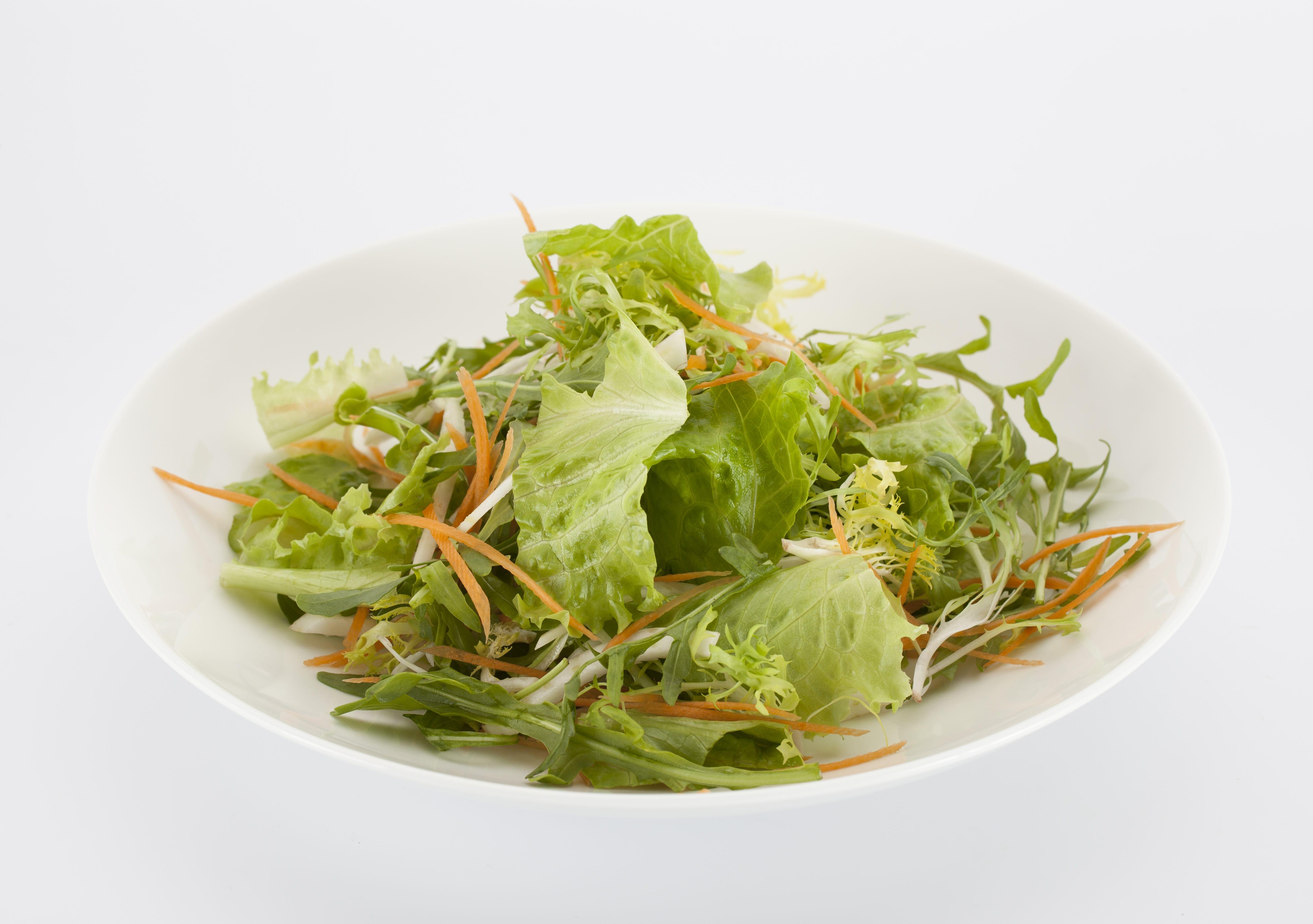 Микс зелёных салатов