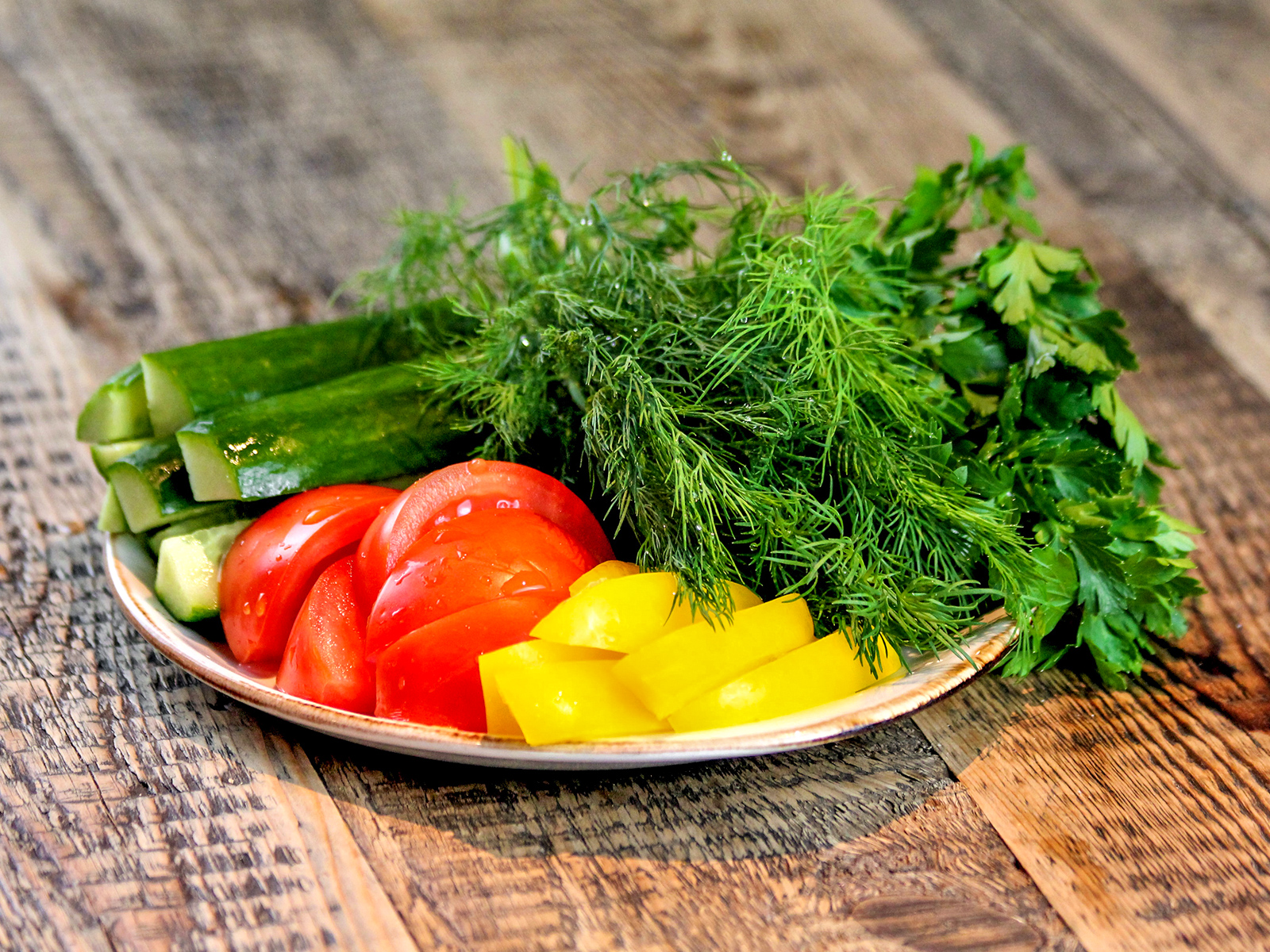 Овощной букет