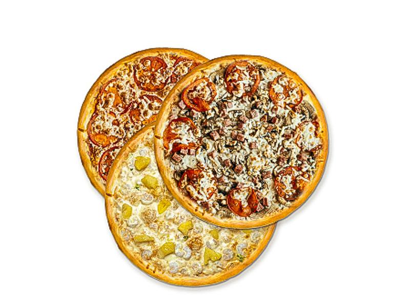 Сет Три пиццы
