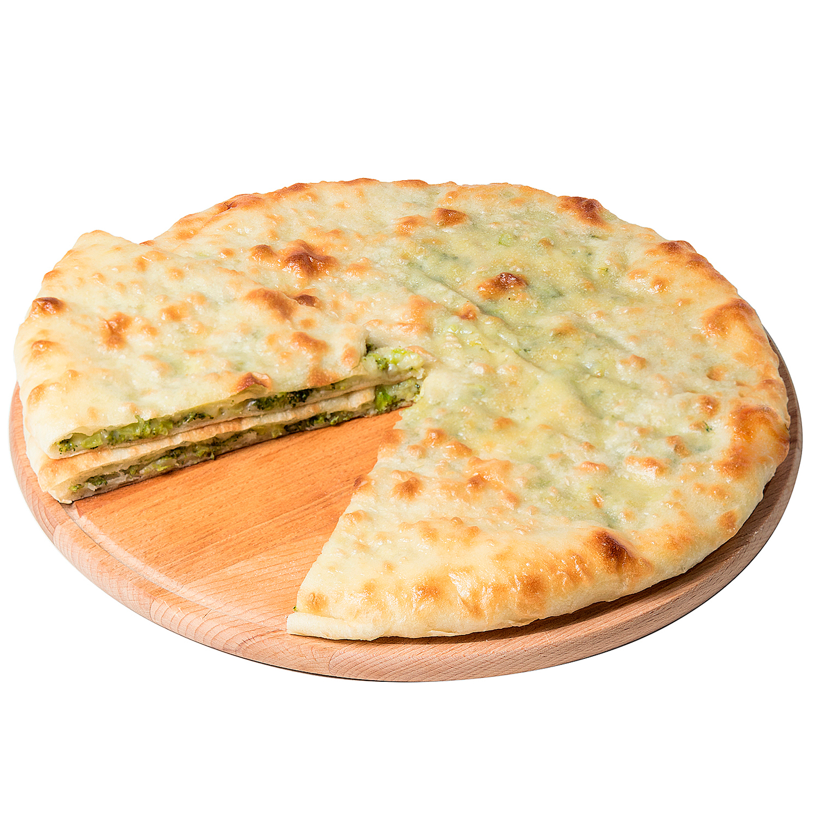 Пирог с брокколи и сыром