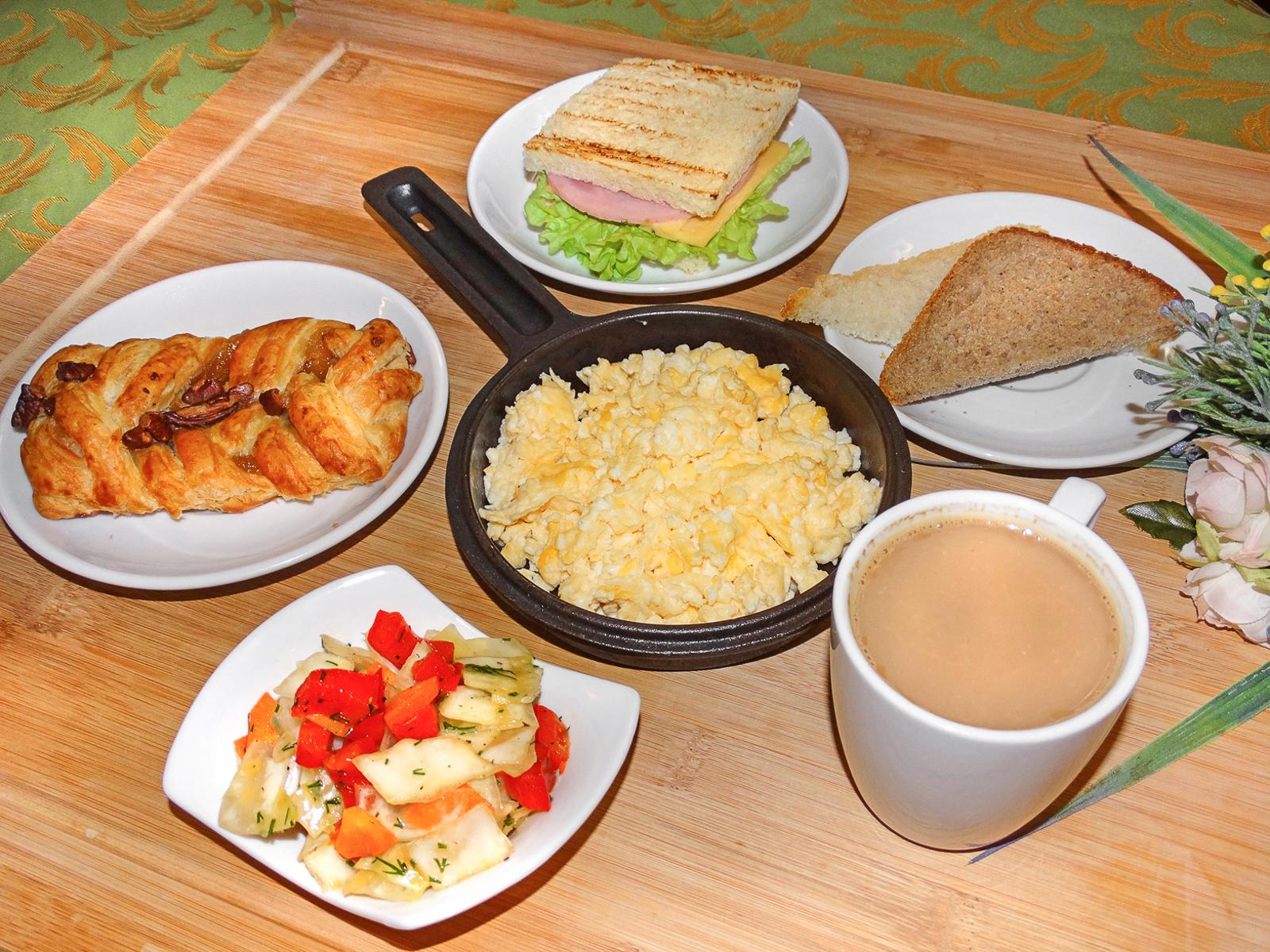 Завтрак Европейский