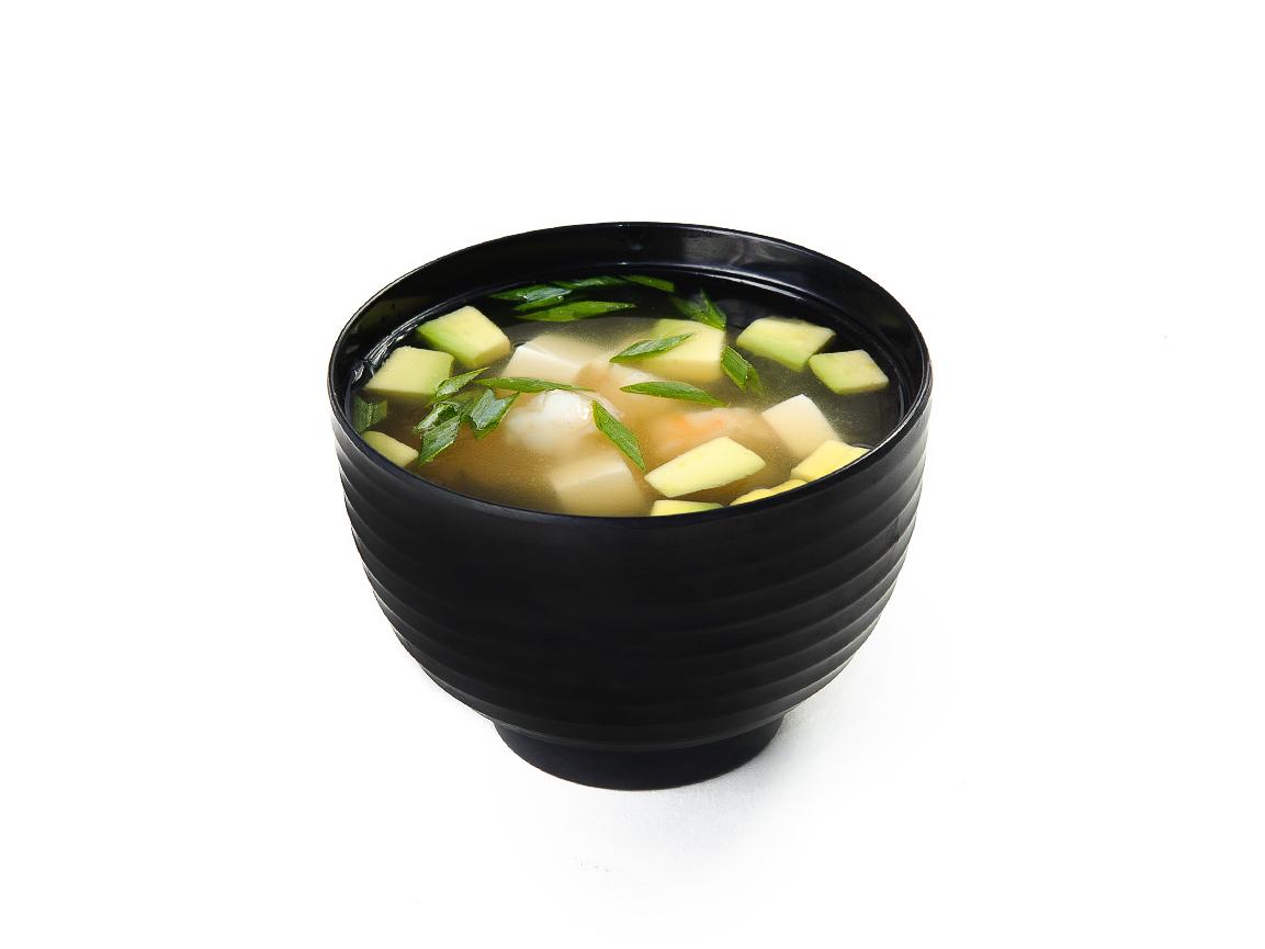 Суп Мисо с креветками