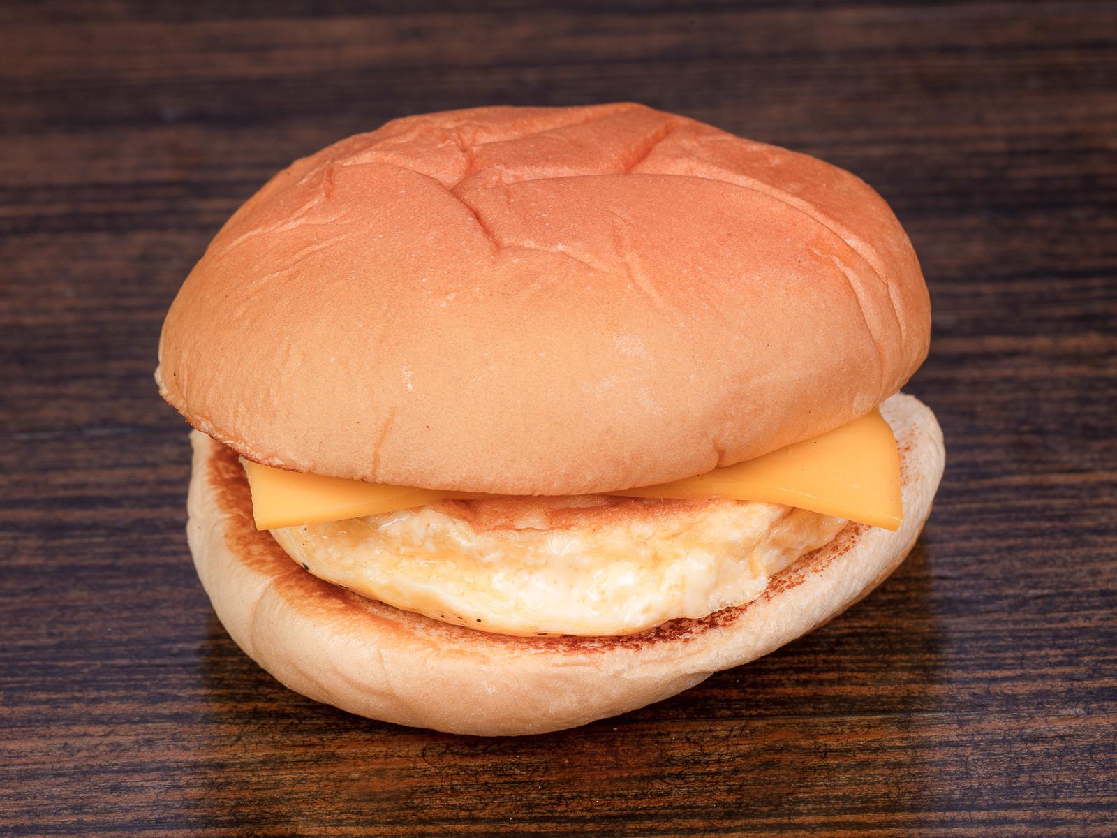 Бургер Яйцо и сыр