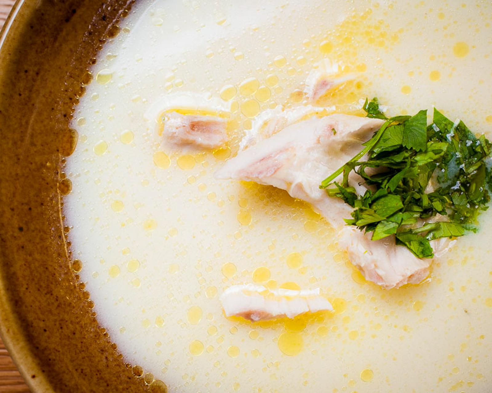 Куриный суп Чихиртма