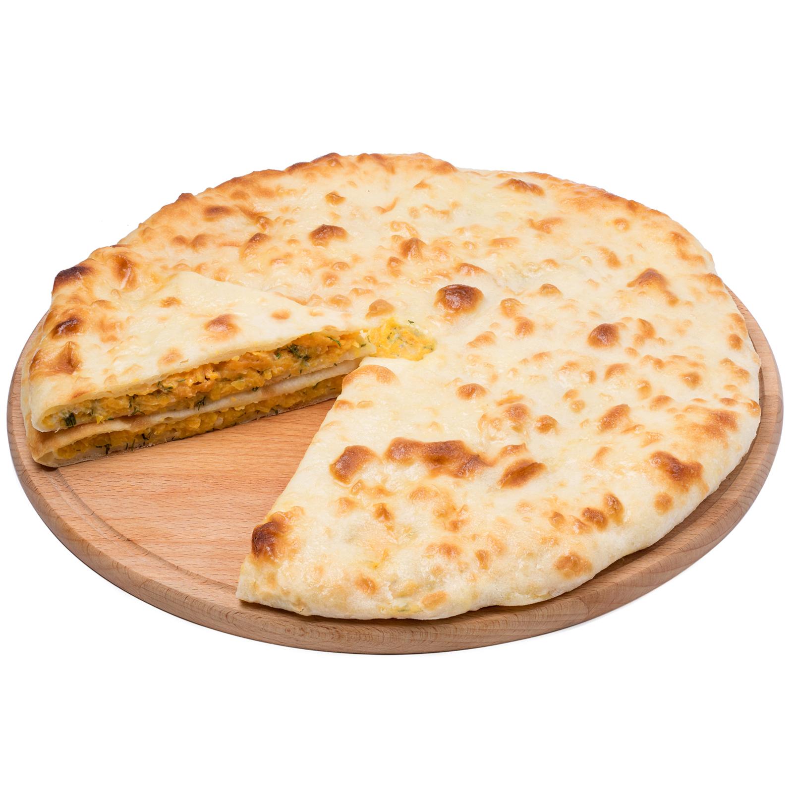 Пирог осетинский с тыквой и сыром