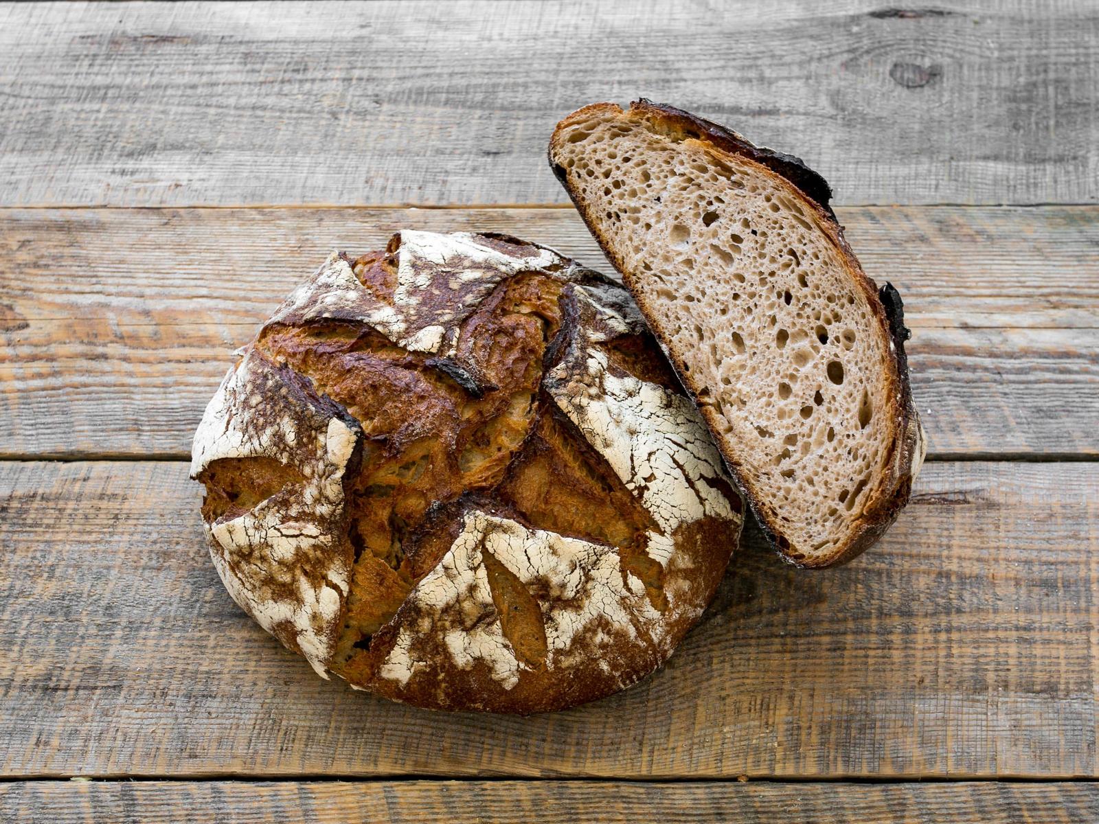 Хлеб Гречишный бездрожжевой