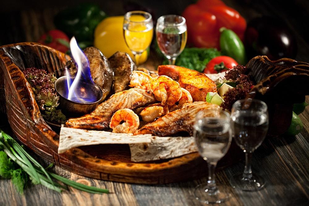 Фирменное блюдо ресторана Рыбный ковчег