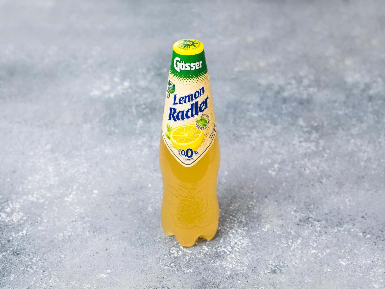Radler лимон безалкогольный