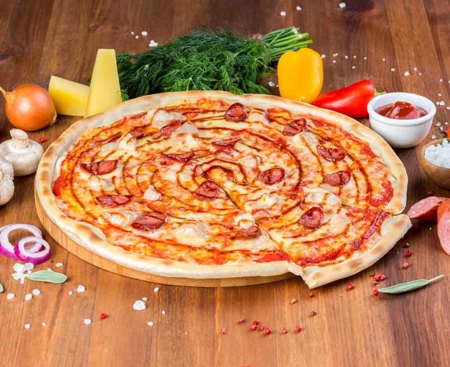Пицца Барбекю классическая