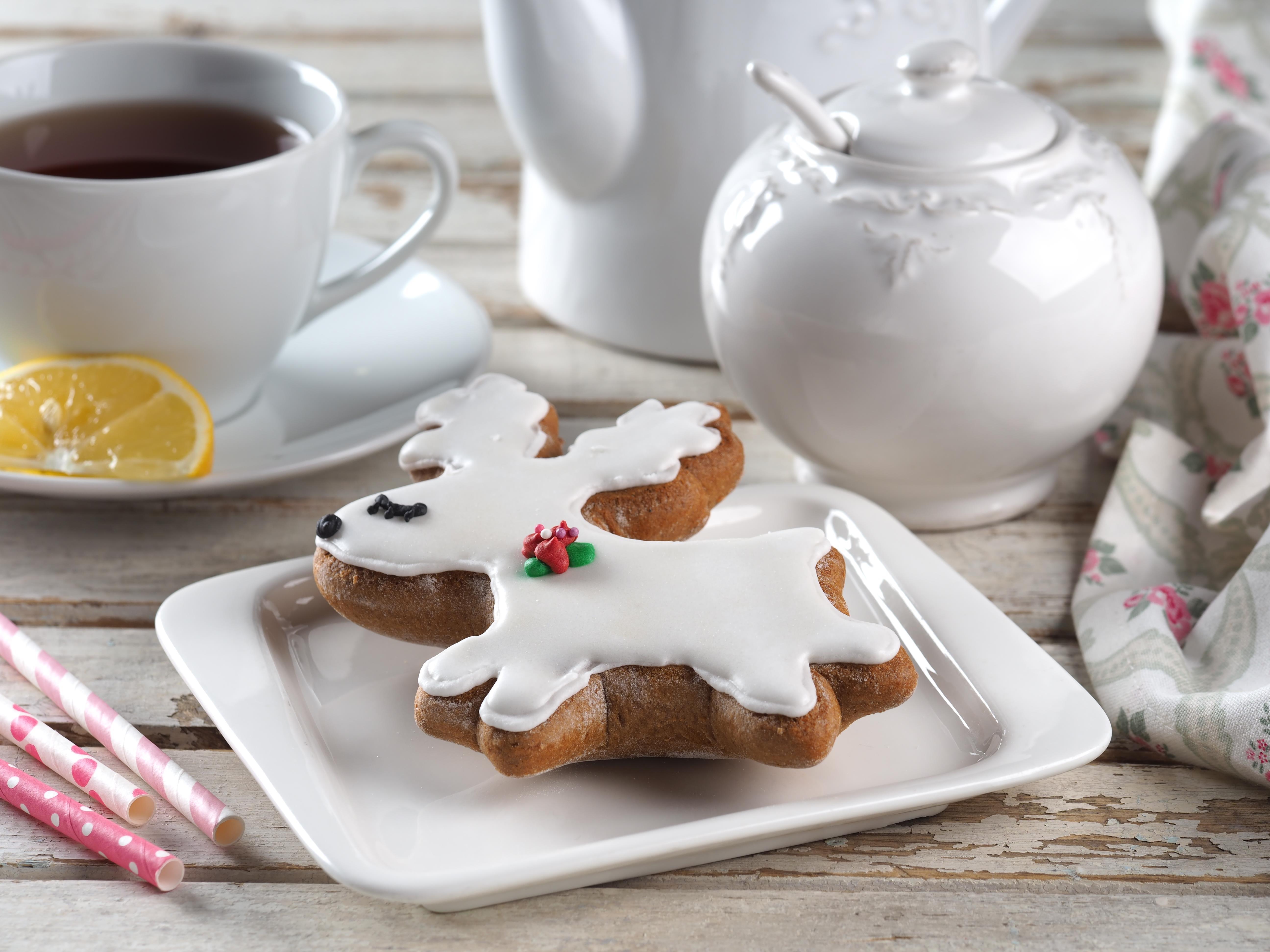 Печенье имбирное (олень белый)