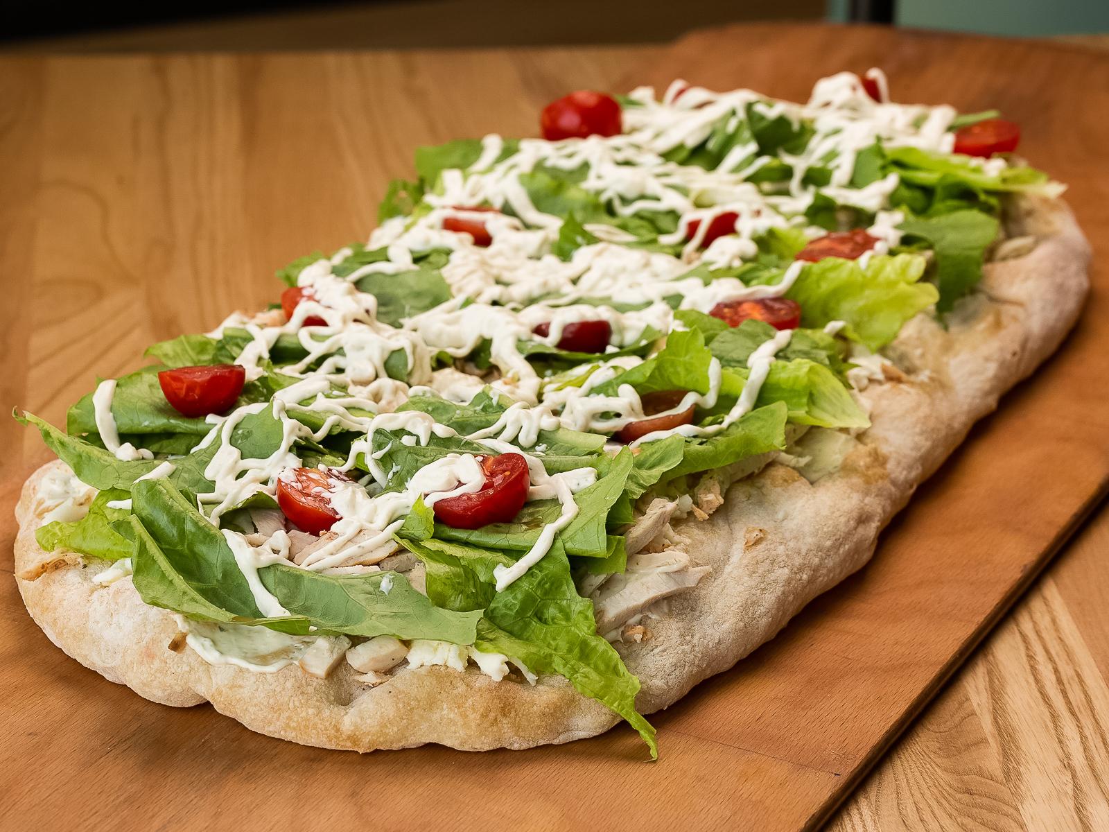 Римская пицца Цезарь