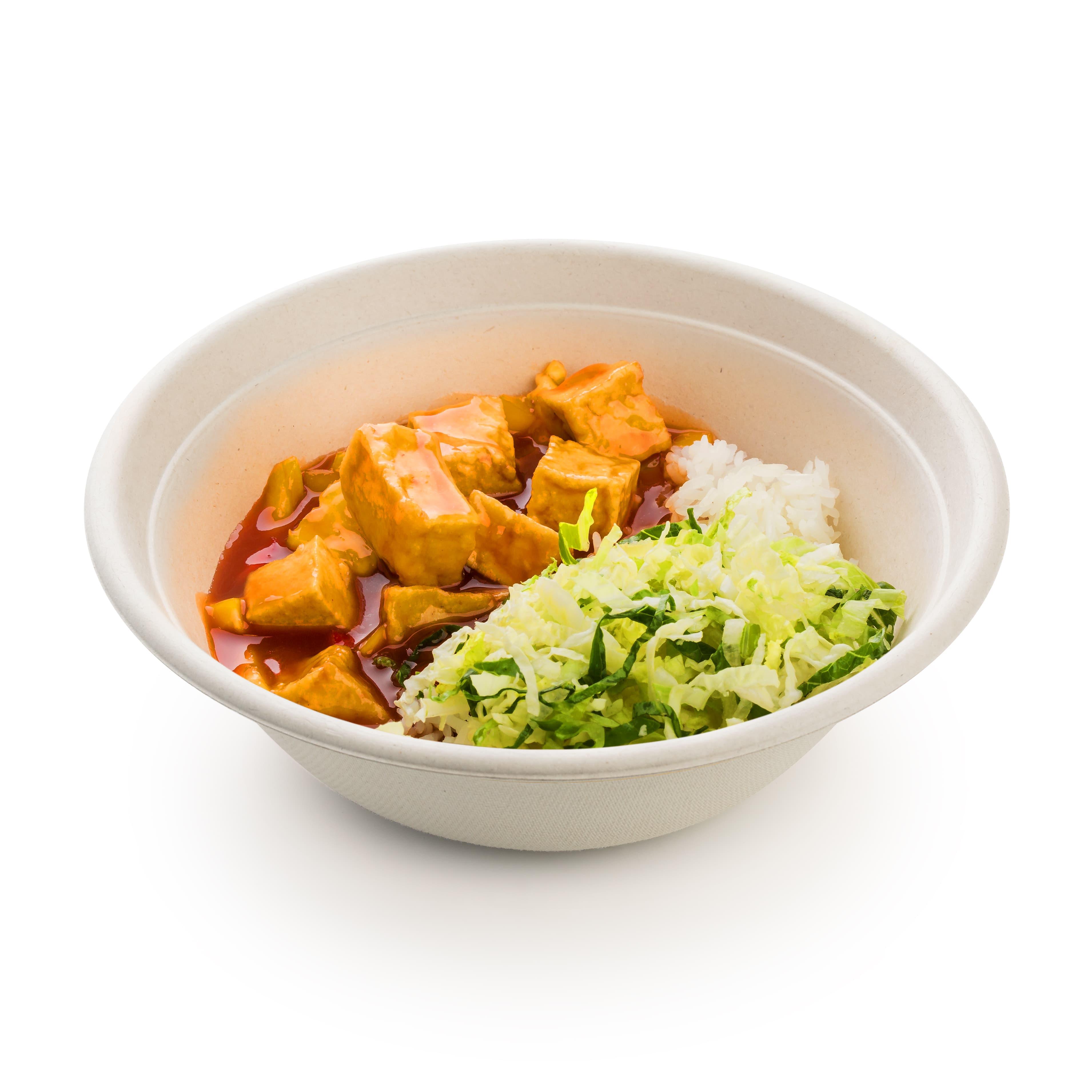 Жасминовый рис с тофу