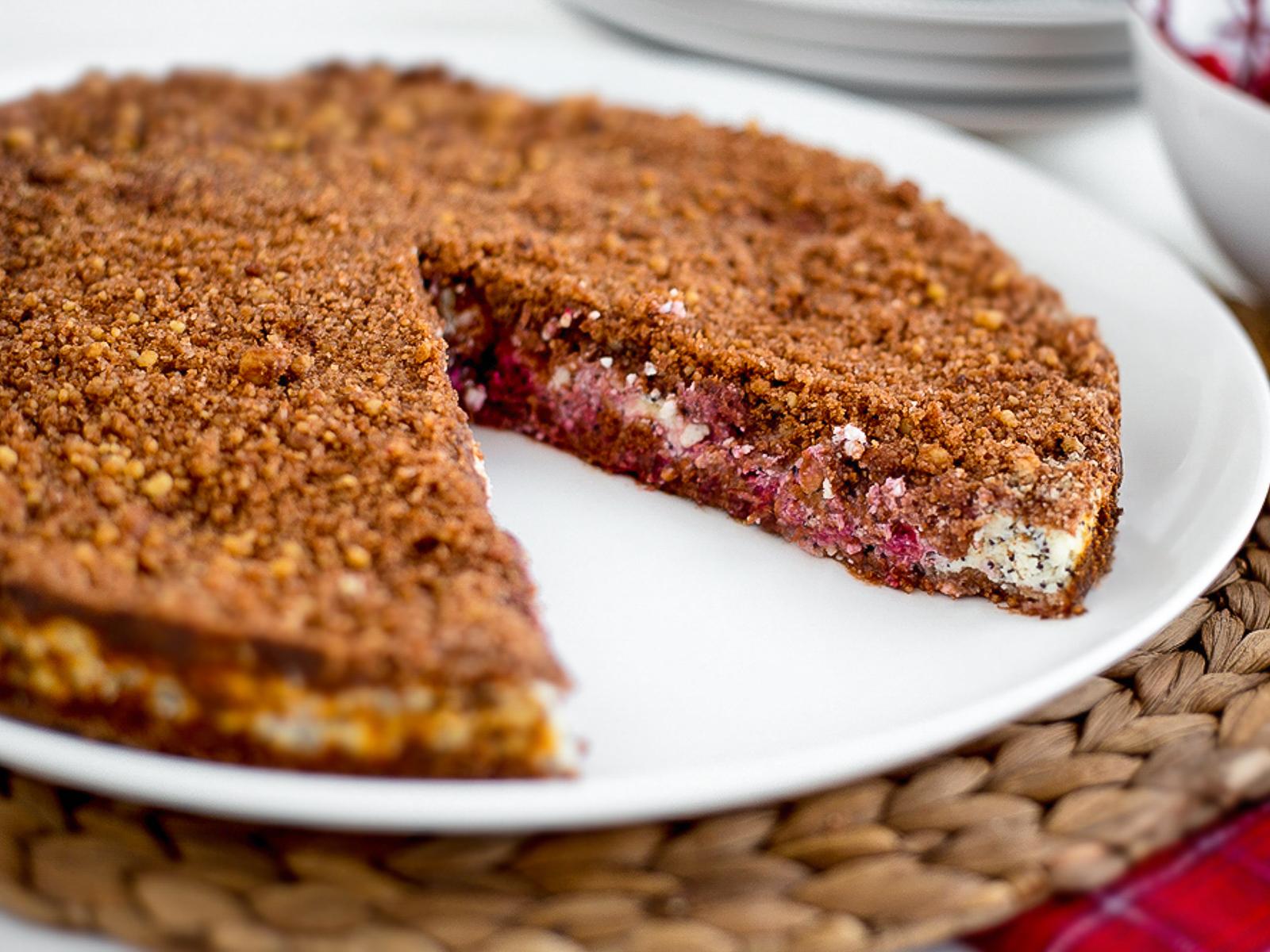 Пирог сладкий Черри-берри