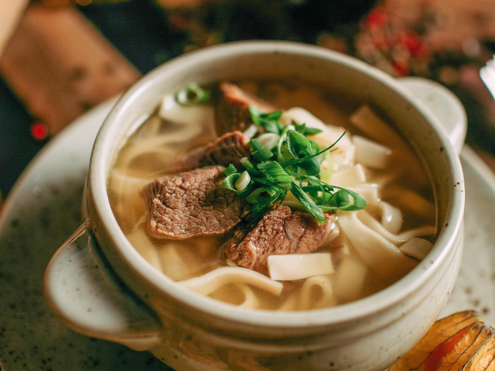 Суп Домашний с лапшой и говядиной