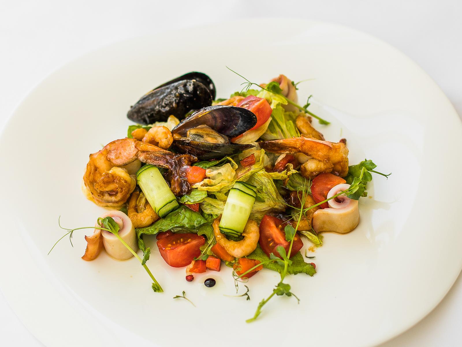 Салат Модена из морепродуктов