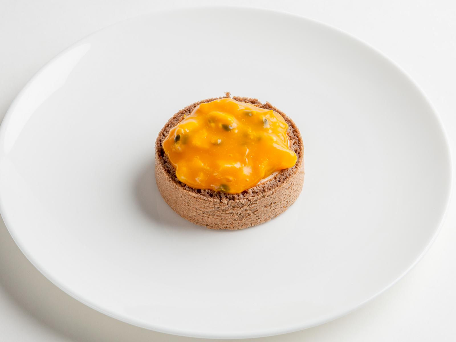 Тарталетка тыква & манго