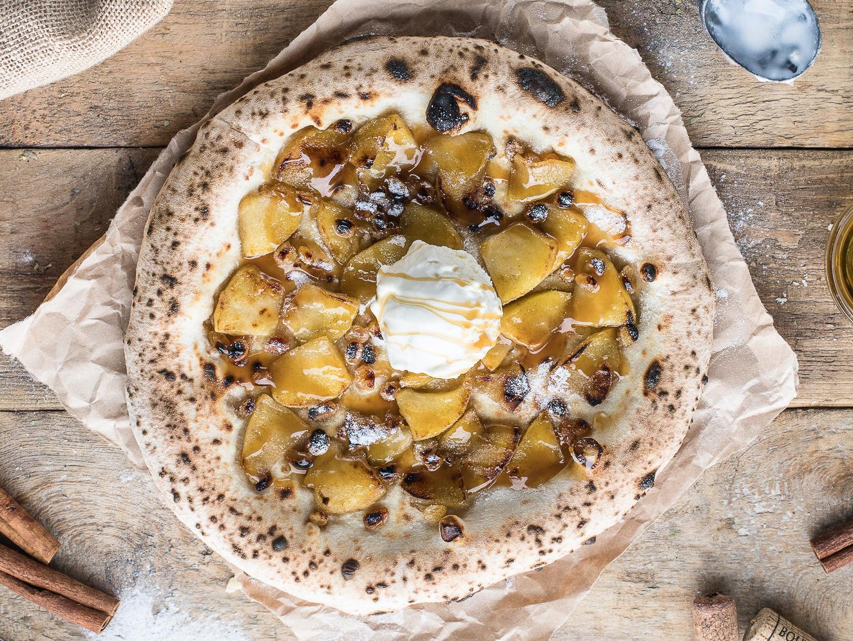 Пицца Яблочный штрудель