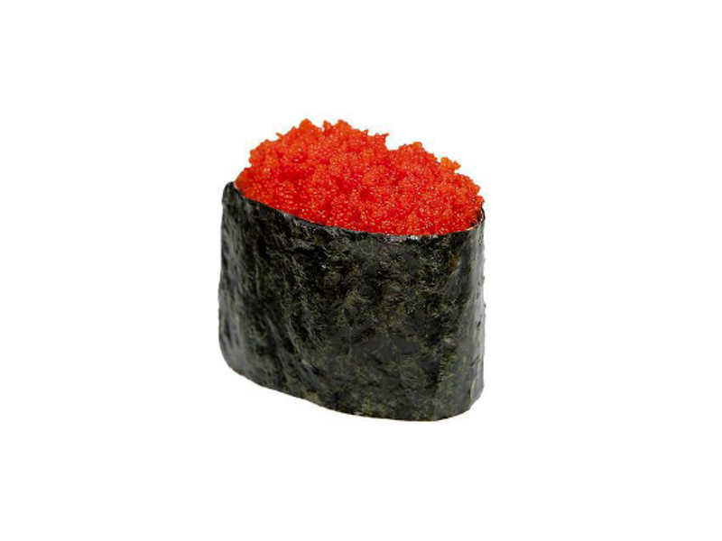 Суши с икрой тобико