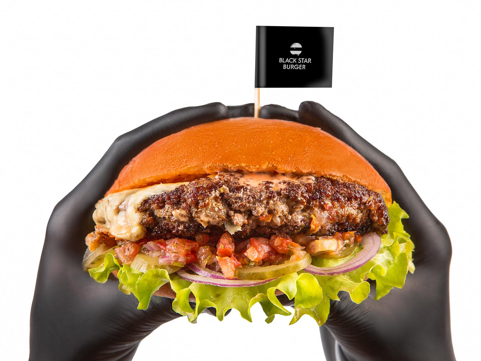 Бургер Сальса с говядиной