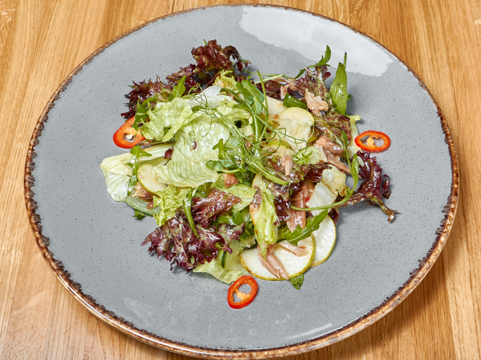 Салат с уткой по-пекински