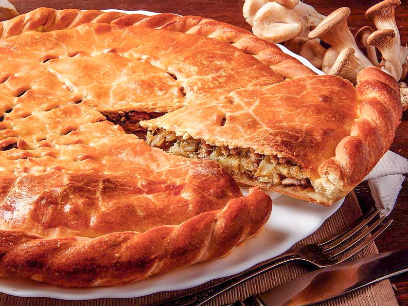 Пирог Летний день