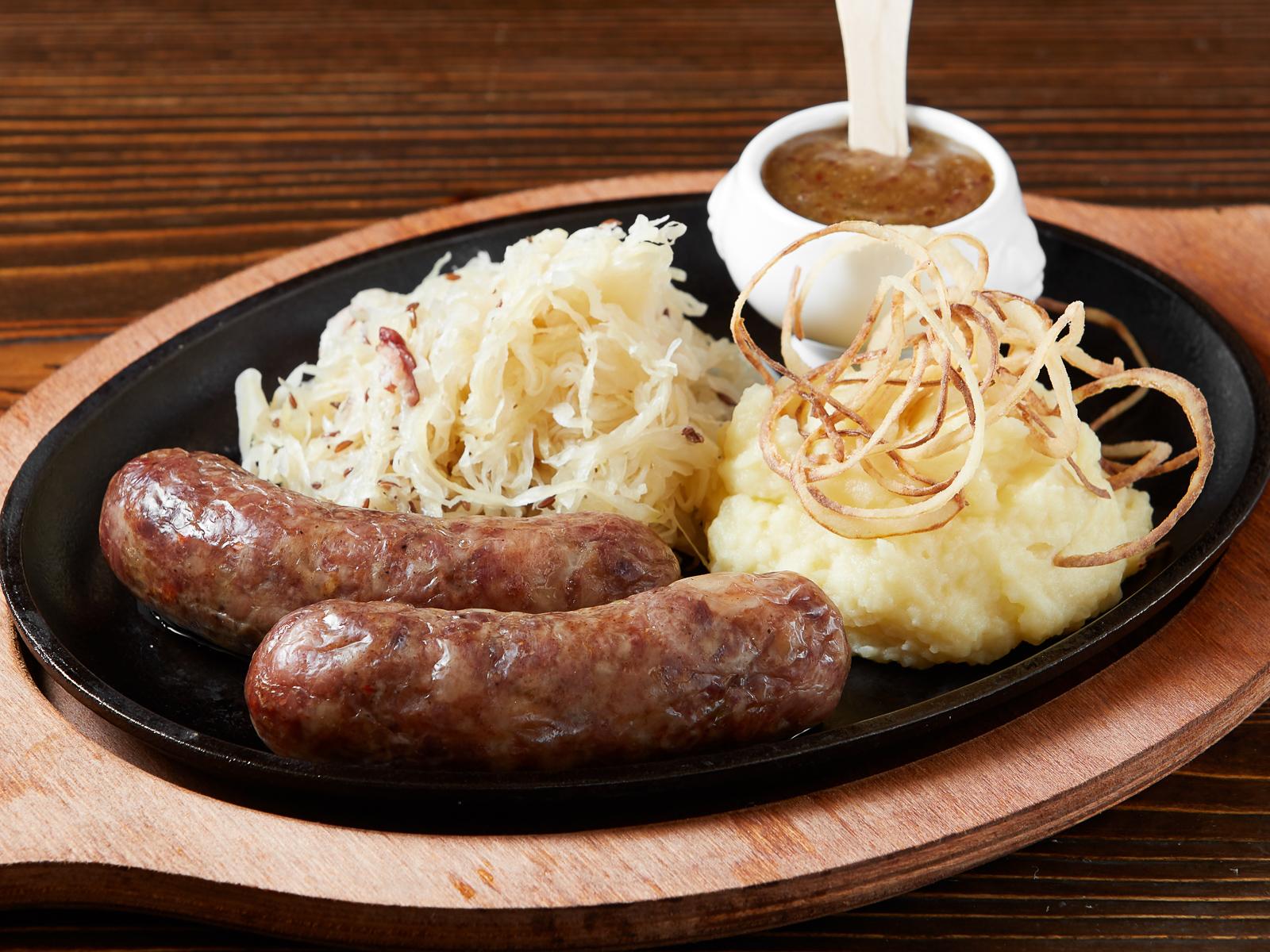 Фирменные свиные колбаски Линдерхоф