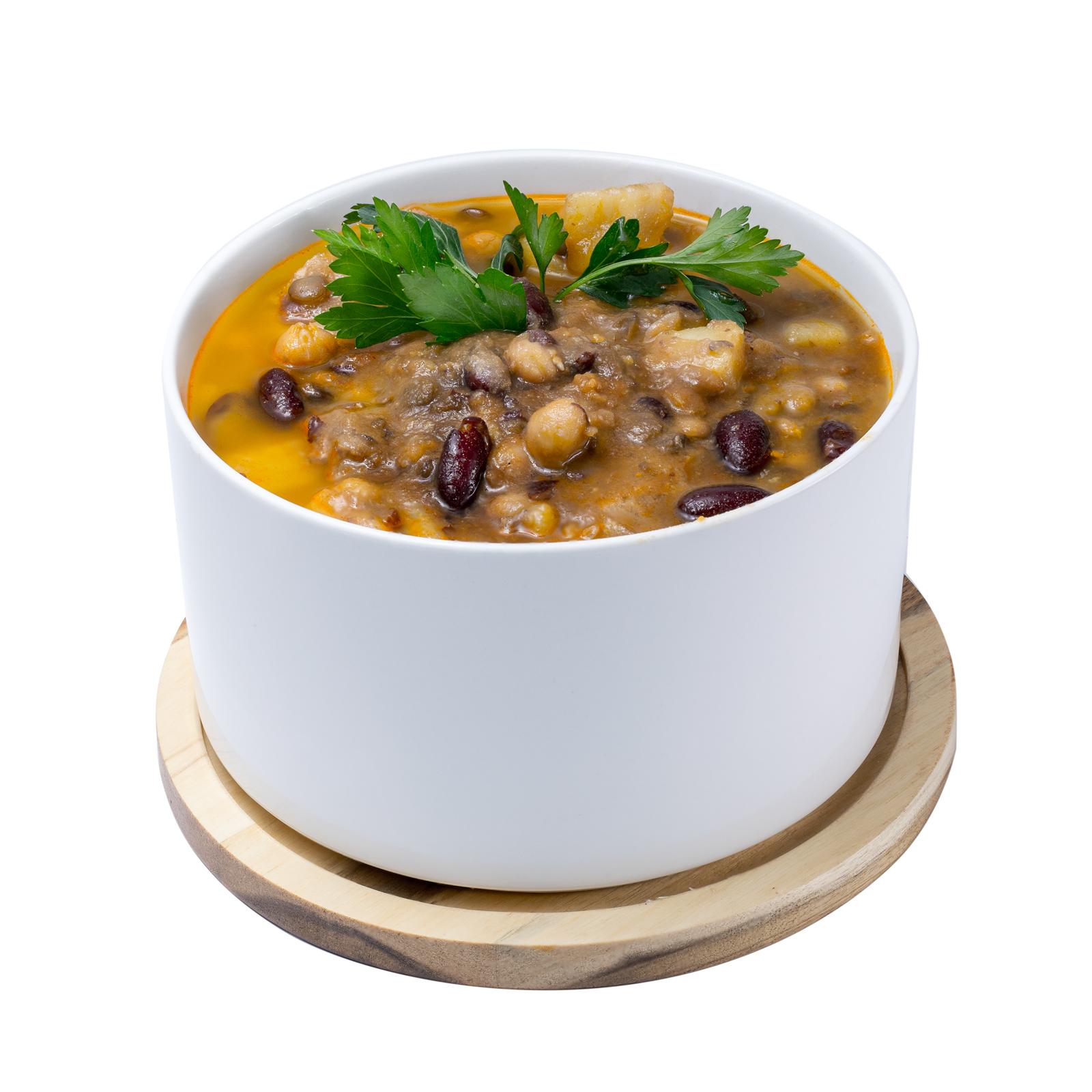 Суп из фасоли по-испански