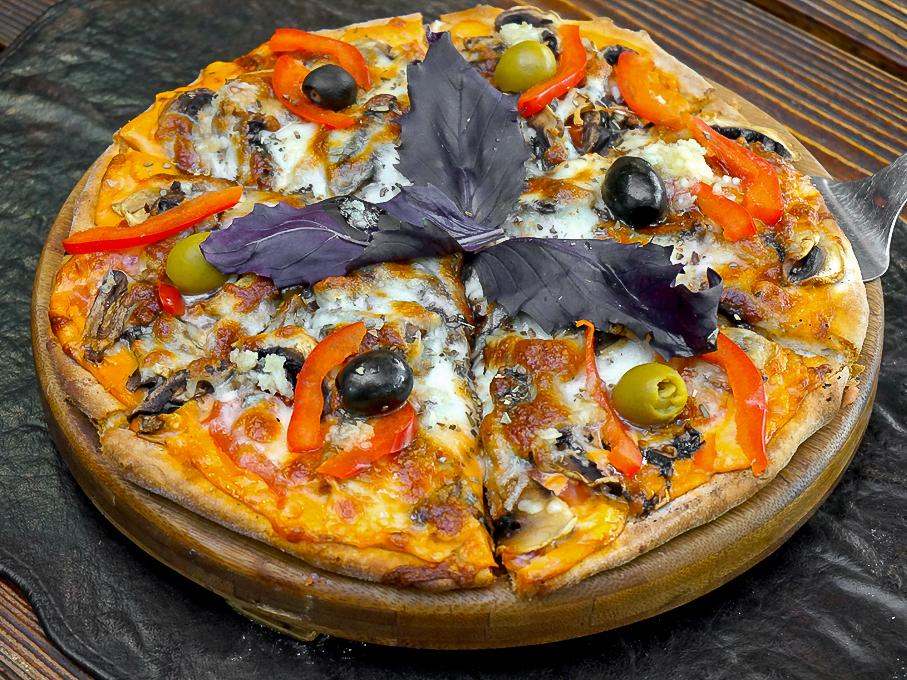 Пицца Грибница