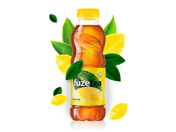 Чай Фьюз Лимон