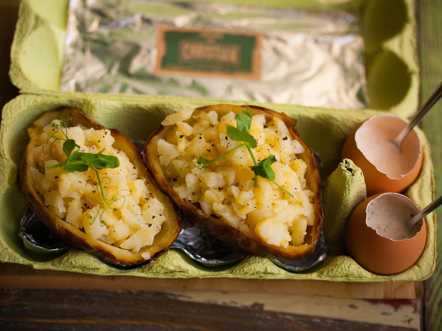 Картофель, запеченный в обмане