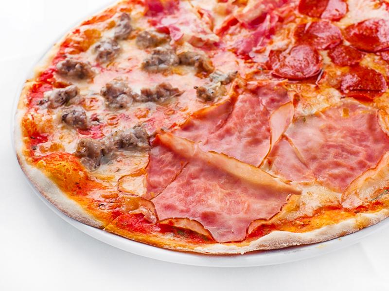 Пицца Кватро карни
