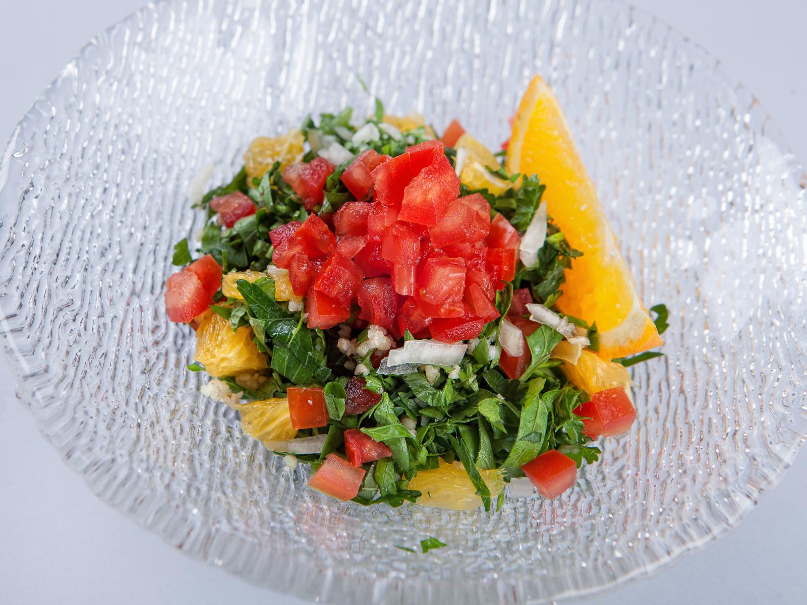 Салат из узбекских томатов