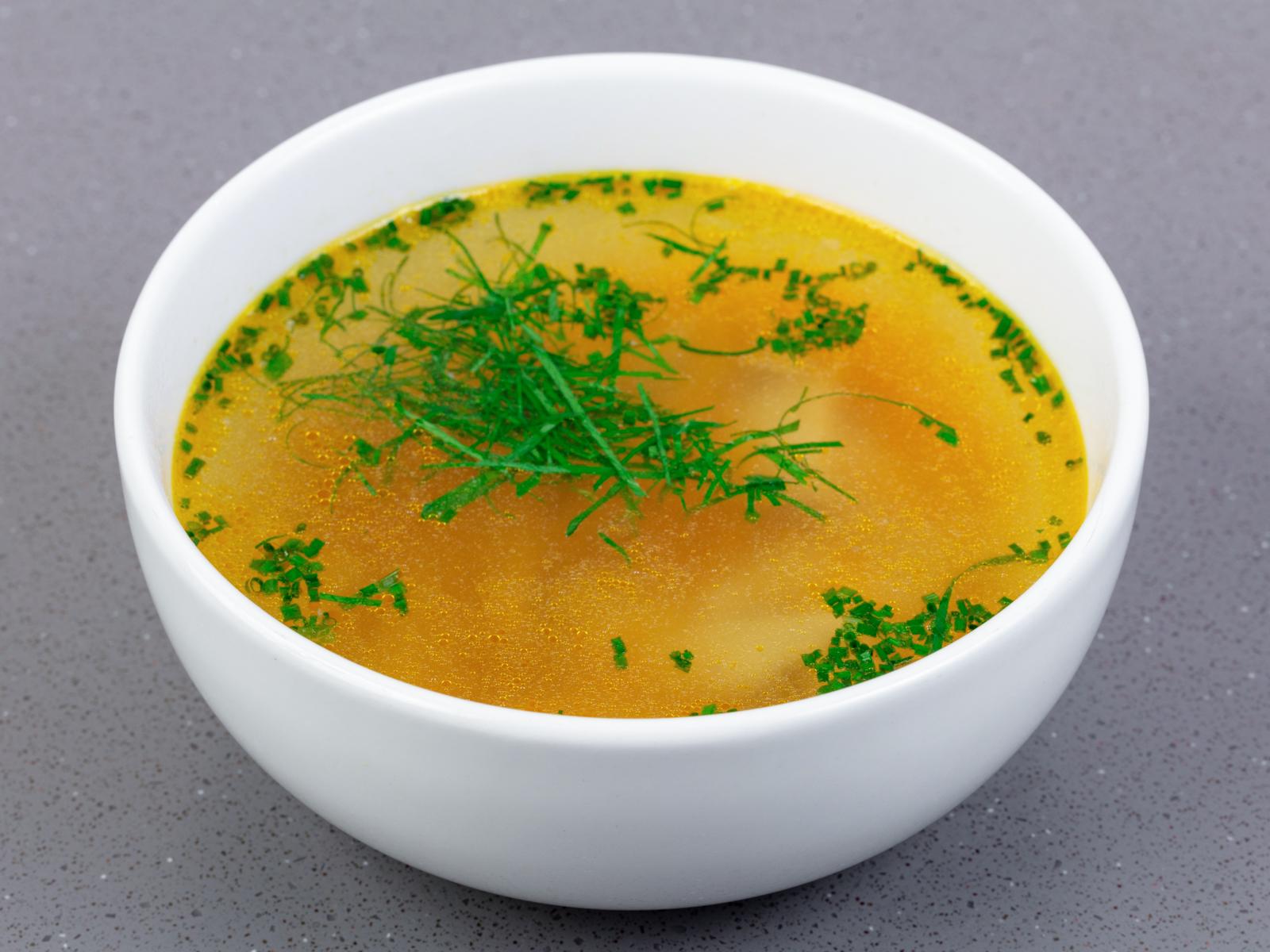 Куриный суп-лапша