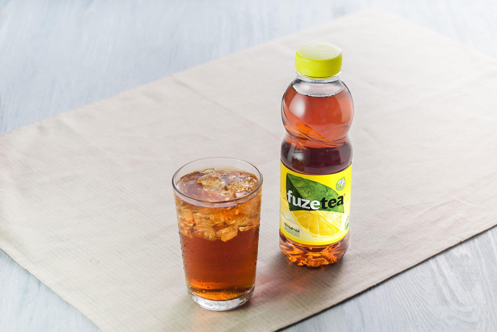 Чай Fuzetea черный с лимоном
