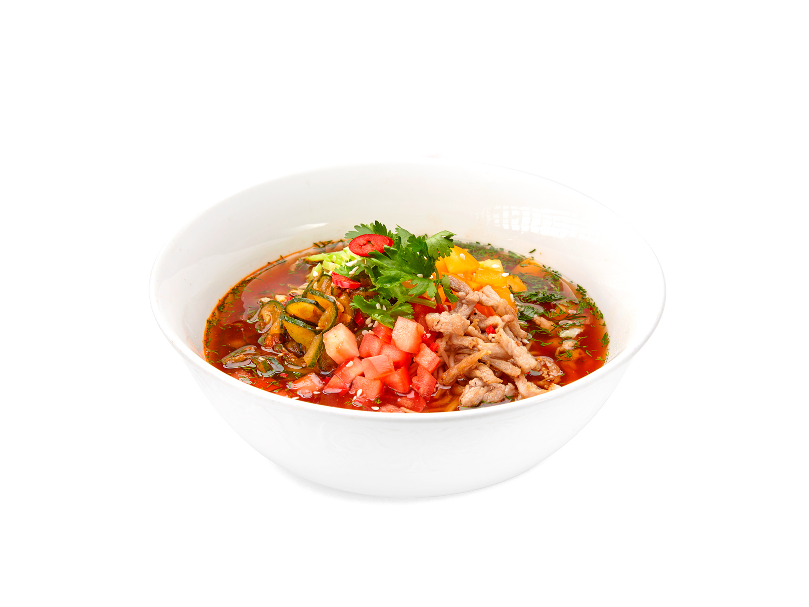 Холодный корейский суп
