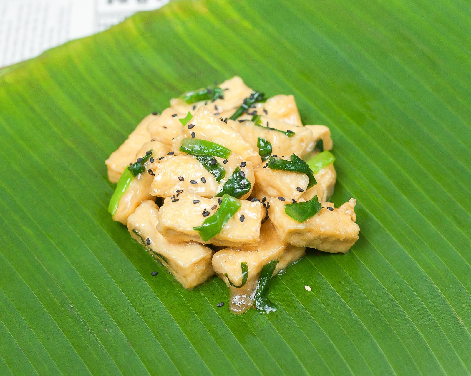 Тофу, жаренный по-вьетнамски