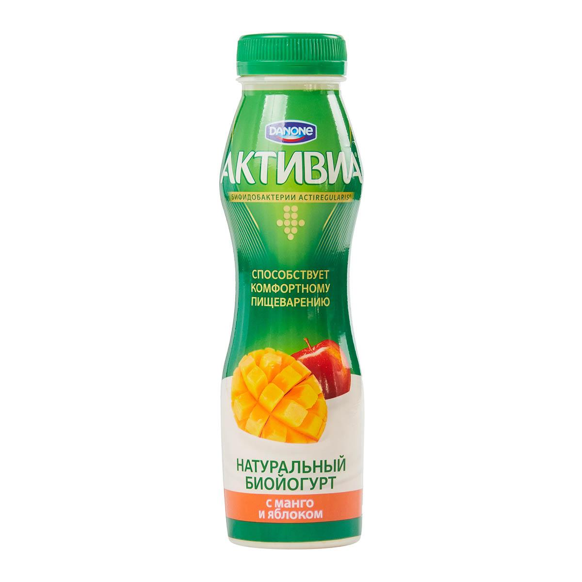 «Активиа» 2% манго-яблоко